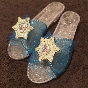 Other - Frozen Elsa dress up shoes.